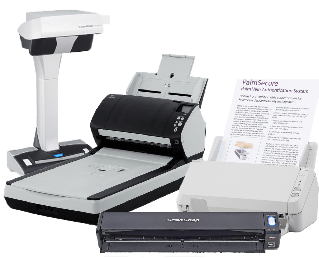 Differents scanners REX ROTARY