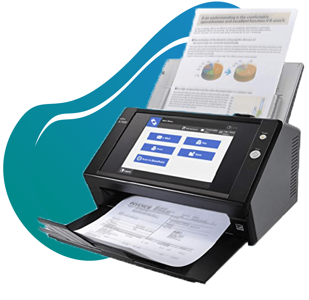 Document scanne solution informatique REX ROTARY