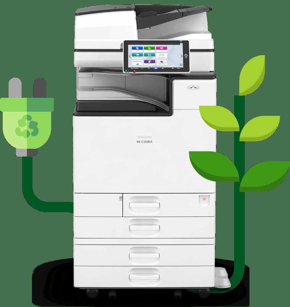 Imprimante professionnelle REX ROTARY