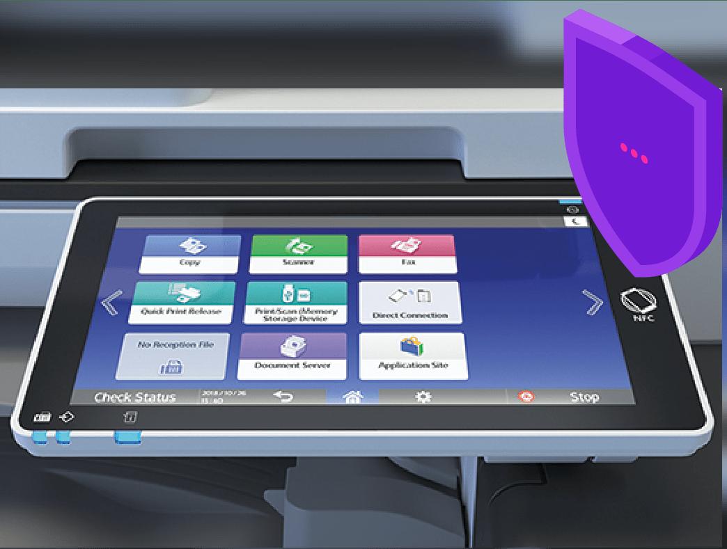 Ecran tactile d'imprimante numerique REX ROTARY