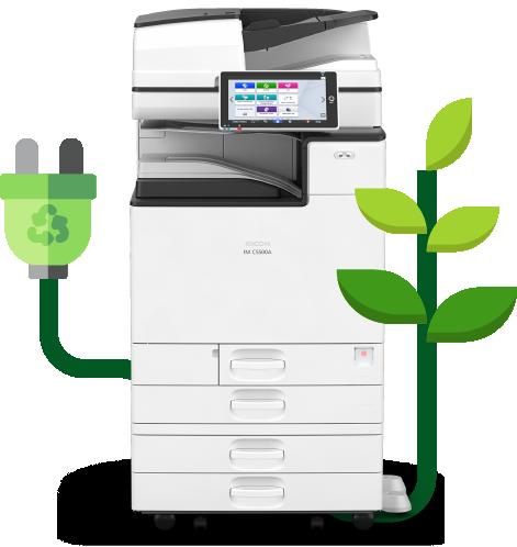 imprimante entreprise environnement