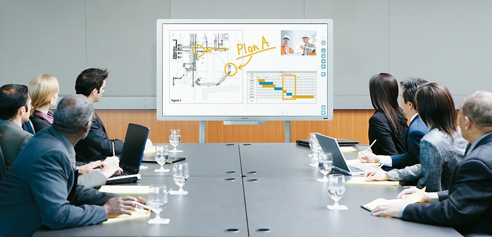 tableau interactif blanc