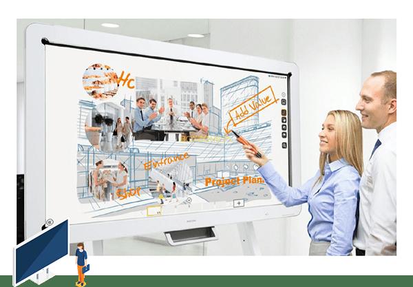 tableau blanc interactif communication
