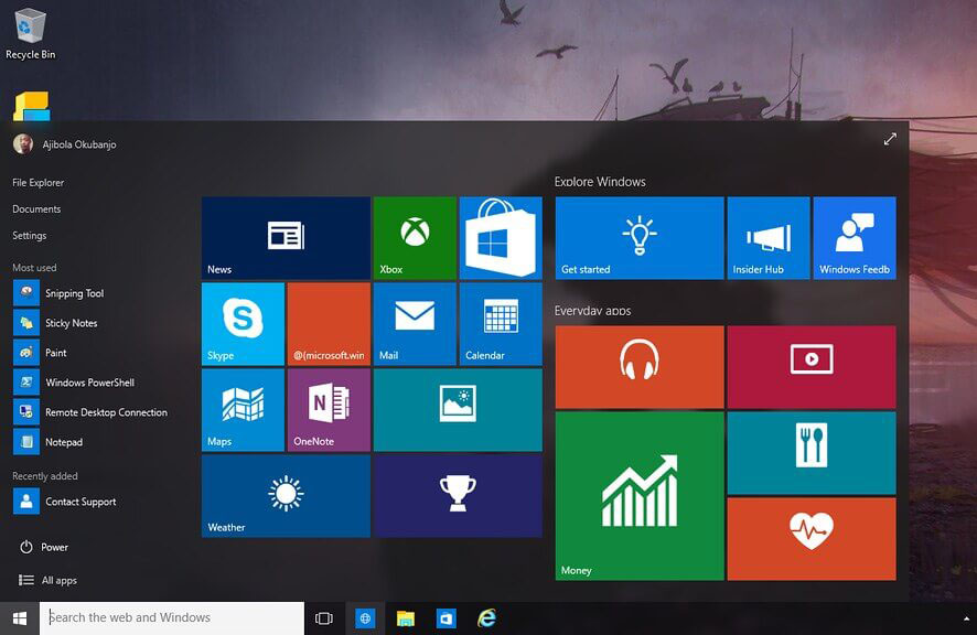 ordinateur pc windows 10