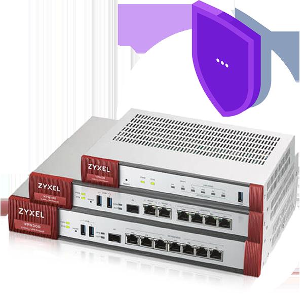 boitier firewall zyxel et solution de sécurité