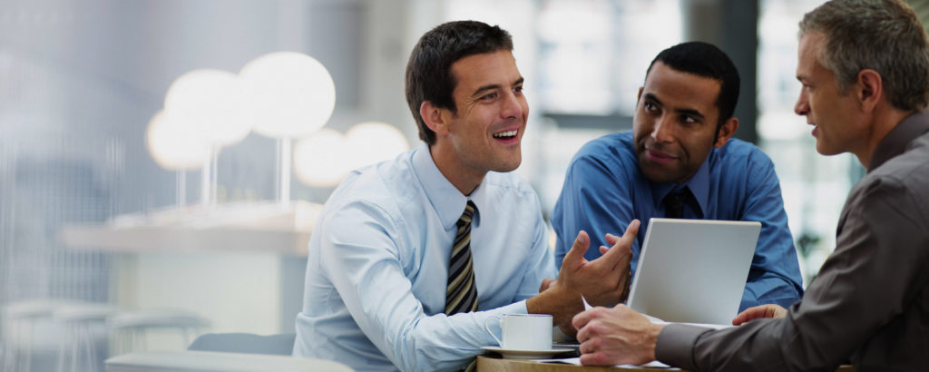 entretien entre collaborateurs